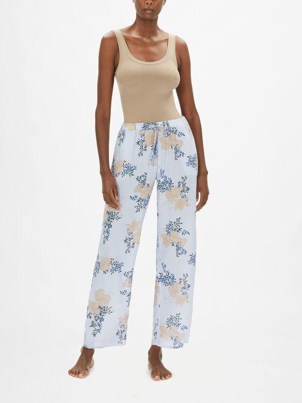 Sleep & Lounge Woven Long Pants
