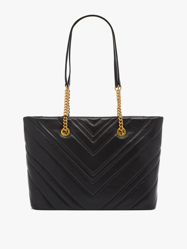 Vivian Quilted Medium Tote
