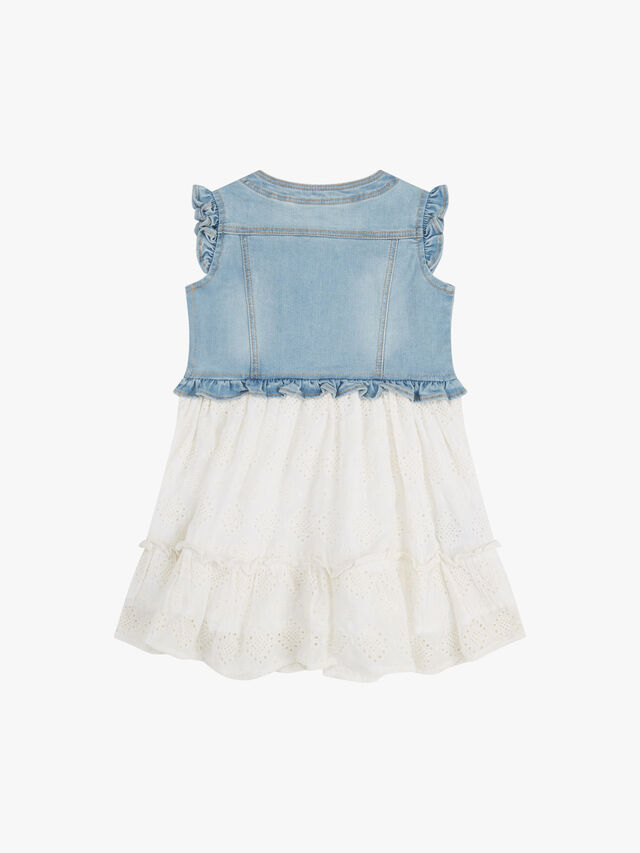 Denim & Embridery Anglais Dress