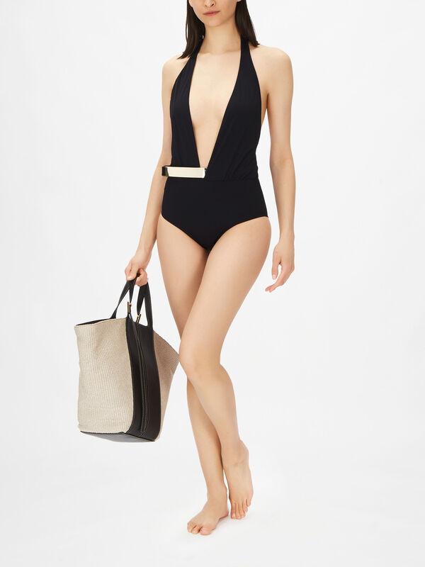 Bridget Deep V Swimsuit