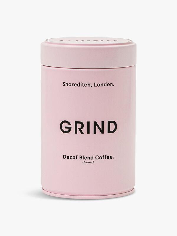 Pink Tin Ground Decaf Blend 227g