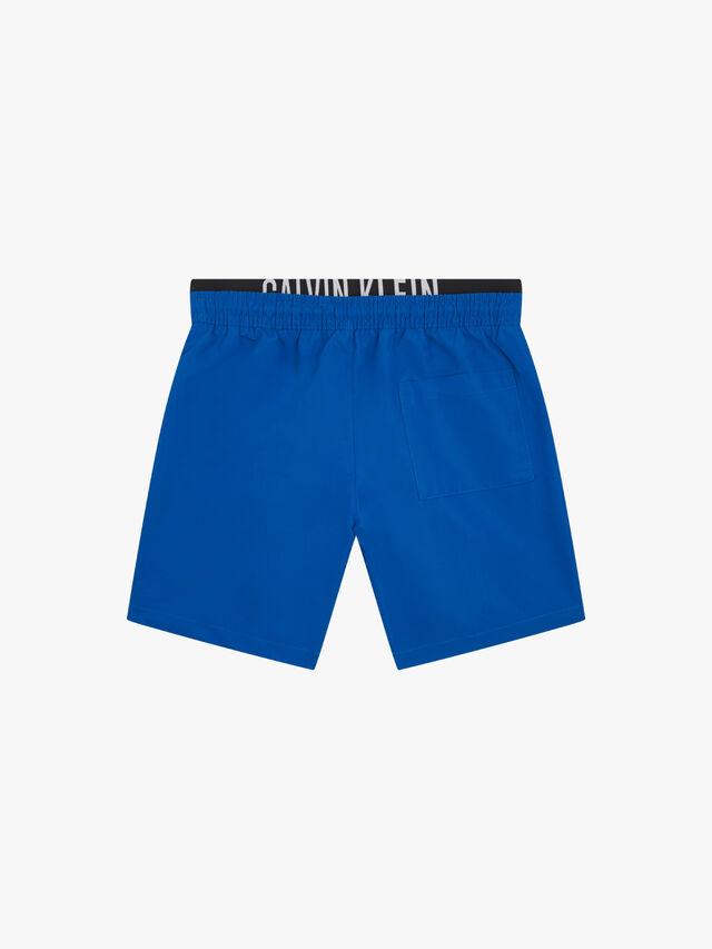 Double Waist Band Swim Shorts