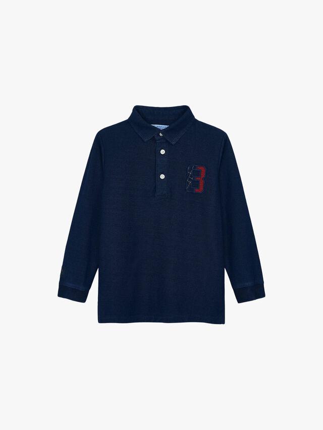 Long Sleeved Polo Top