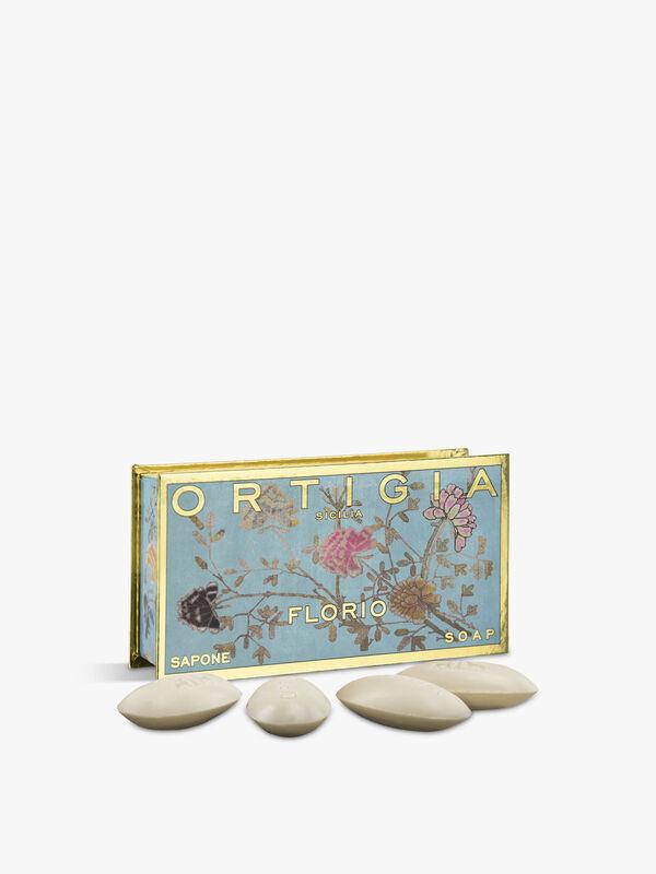 Florio Olive Oil Soap Box 40gx4
