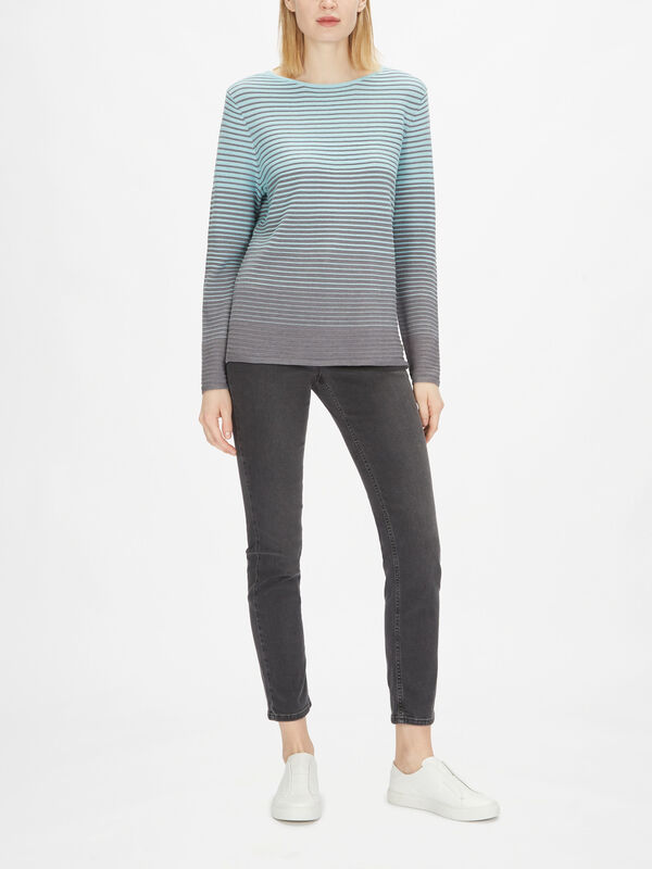 Fine Stripe Knit