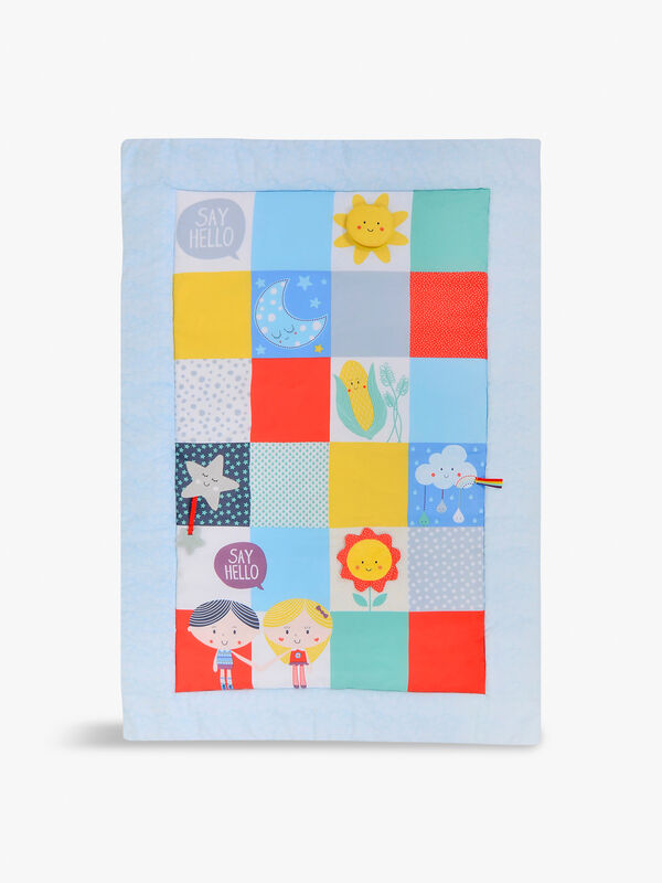 Say Hello Patchwork Activity Mat
