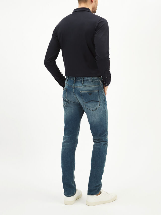 Slim Fit Straight Jeans