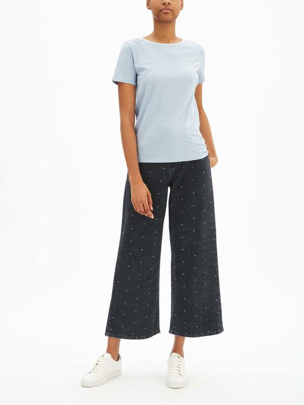 Full Wide Leg Jeans