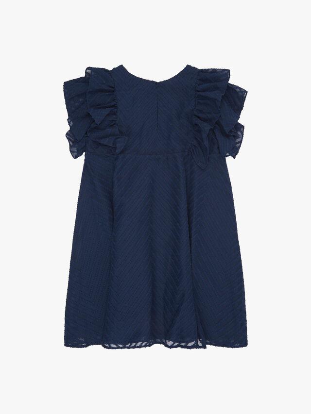 Textured A Line Dress