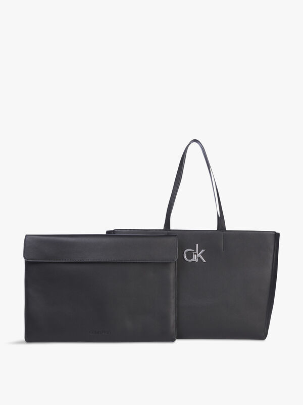 Re-lock Shopper with Laptop Pouch