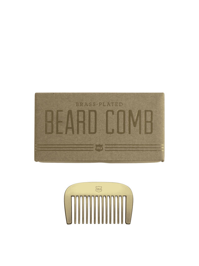 The Long and Short of It Beard Comb