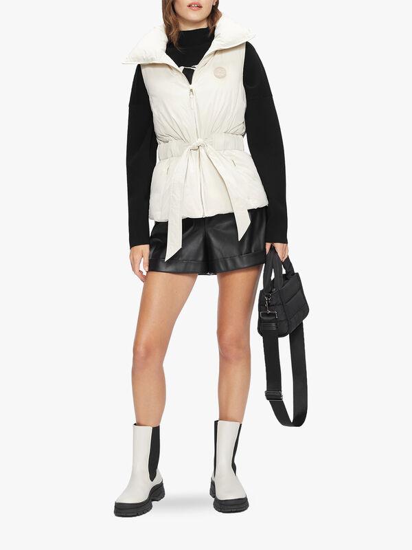 PAWA PU Leather Shorts