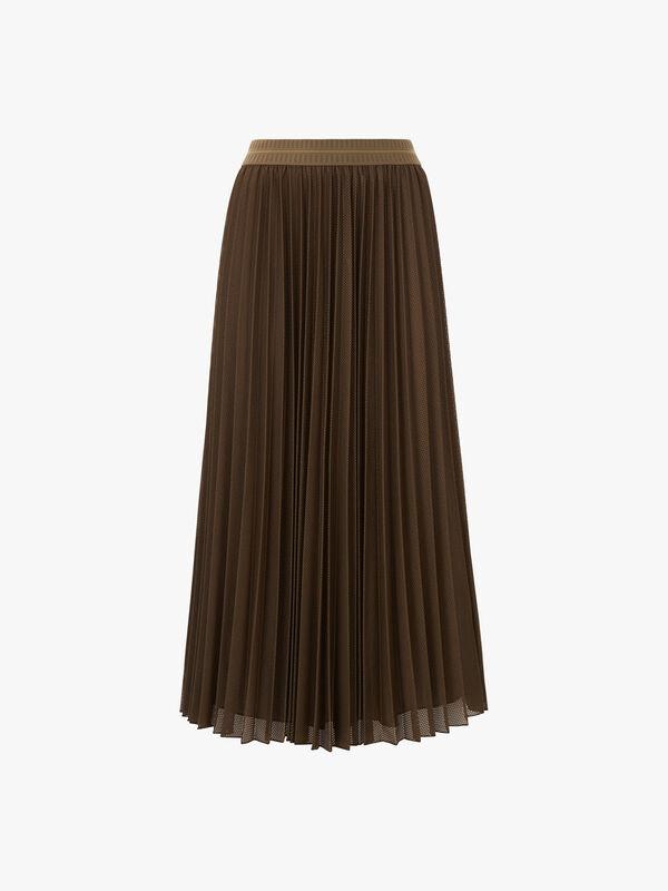 Dolcezza Pleated Midi Skirt