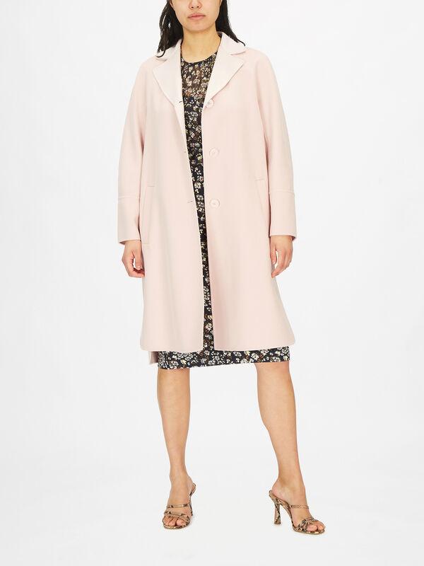 Eneide Single Breast Coat