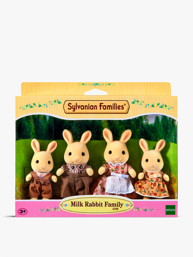 Milk Rabbit Family