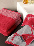 Two Tone Edge Face Towel