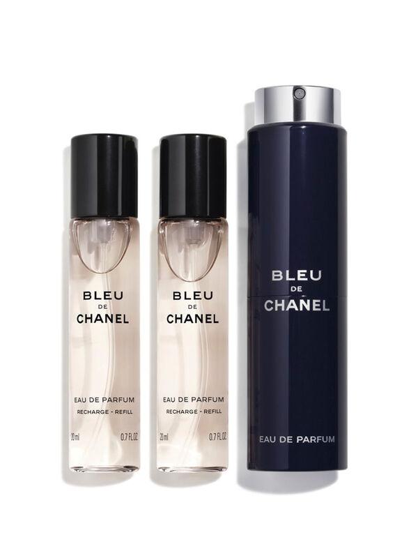 BLEU DE CHANEL Eau De Parfum Twist and Spray 3x20ml