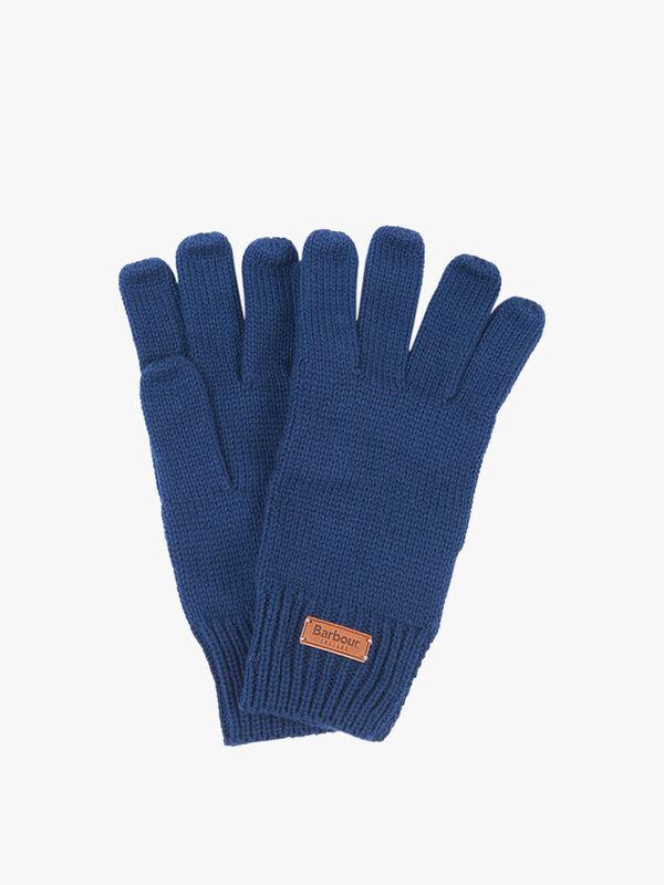 Barbour Tartan Scarf & Glove Set