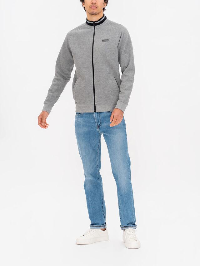 Radius Raglan Zip Through Sweater