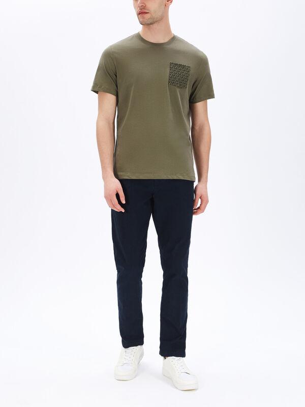 MK Signature Pocket T-Shirt