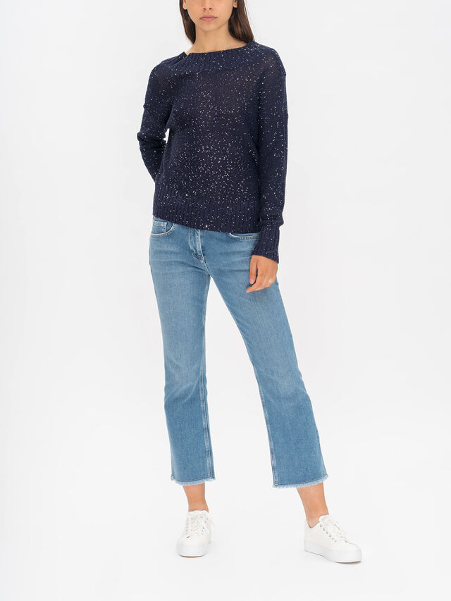 Falena Long Sleeve Chunky Knit Jumper