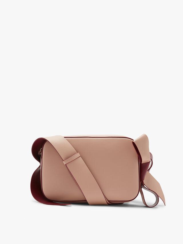 Bow detail Shoulder camera bag