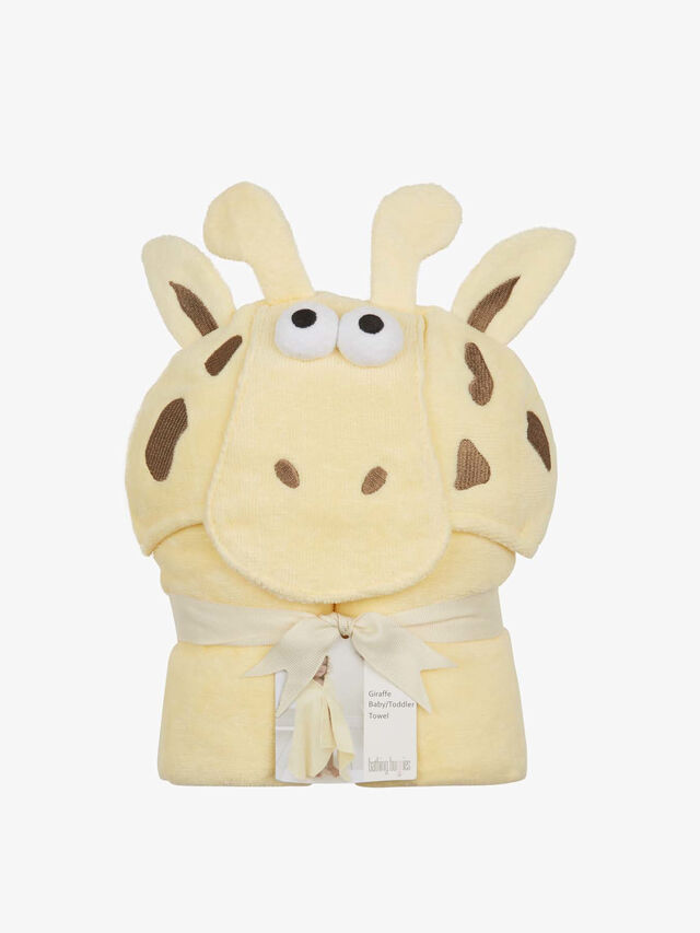 Giraffe Toddler Towel