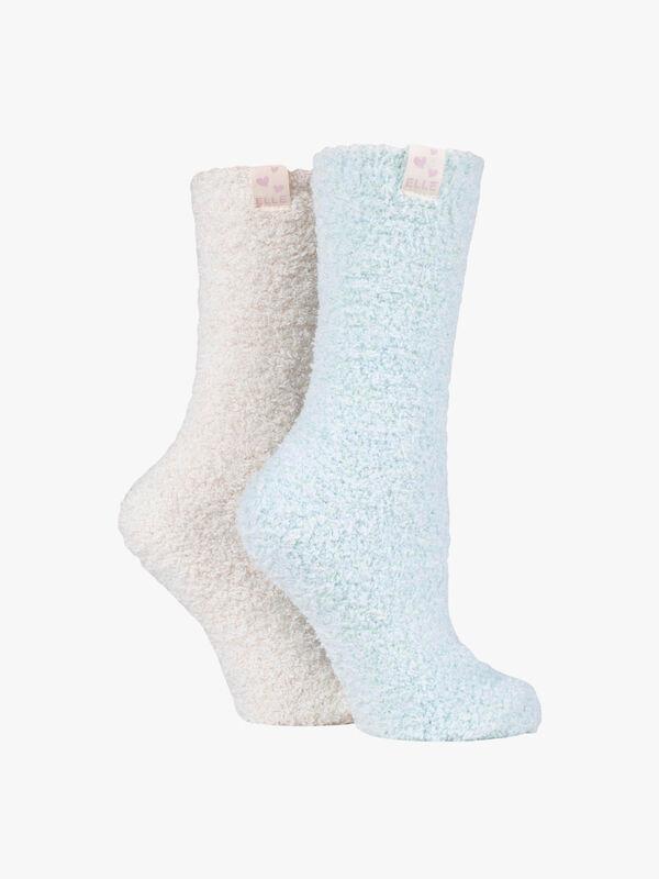 Two Tone Soft Cosy Socks