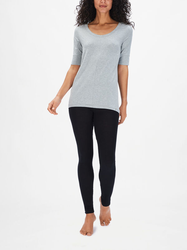Yoga Mid Sleeve Top