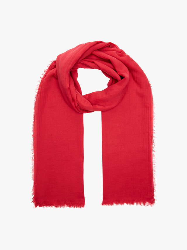 Mege Cotton Plain Scarf