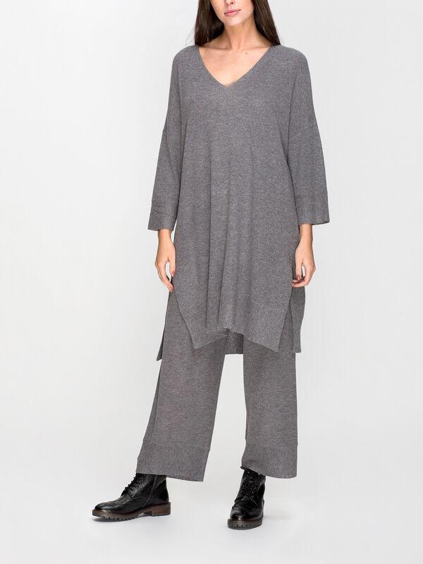 Grancoise V Neck Knitted Tunic