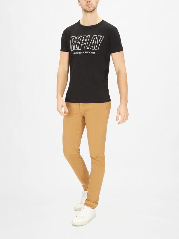 Replay Denim Goods Crewneck T-Shirt