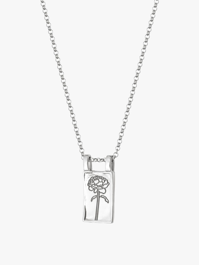 Rose Floriography Necklace