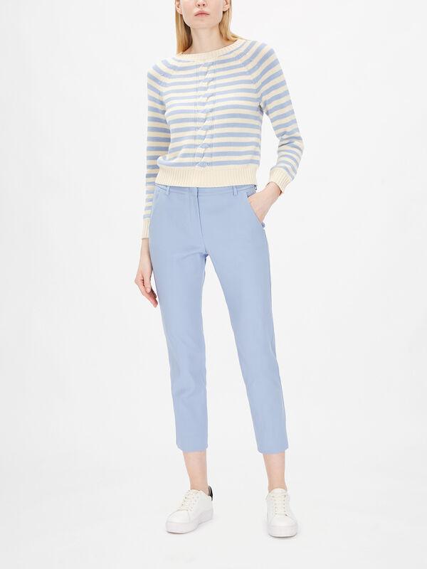 Vite Cotton Slim Trouser