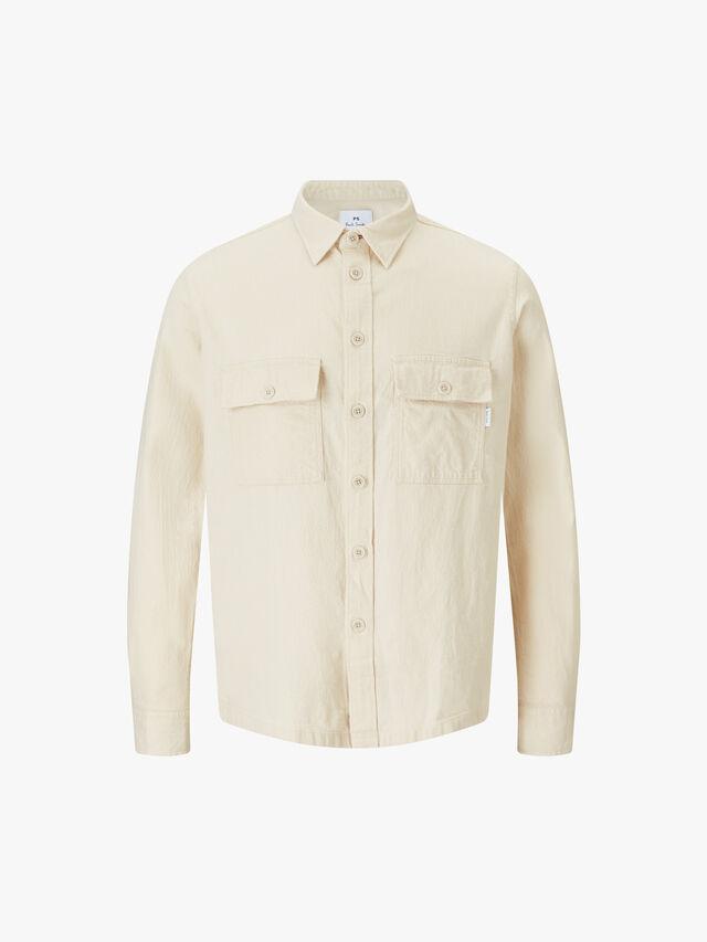 Cotton Blend Overshirt