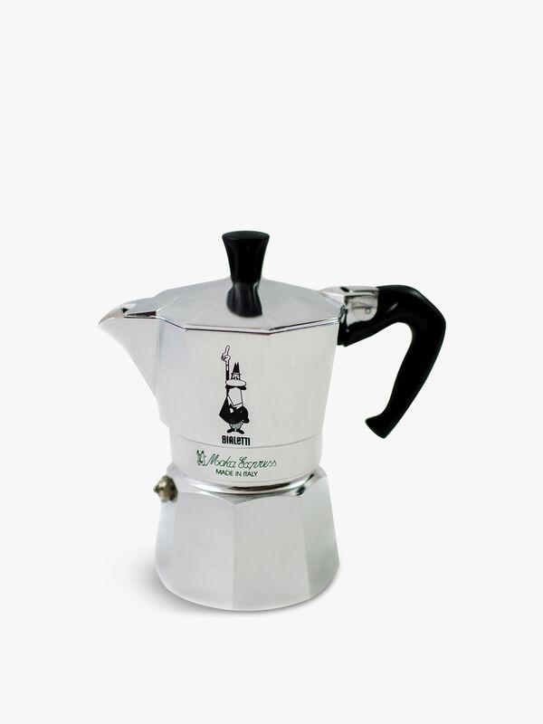 Moka Express Aluminium Stovetop Coffee Maker (3 Cup)