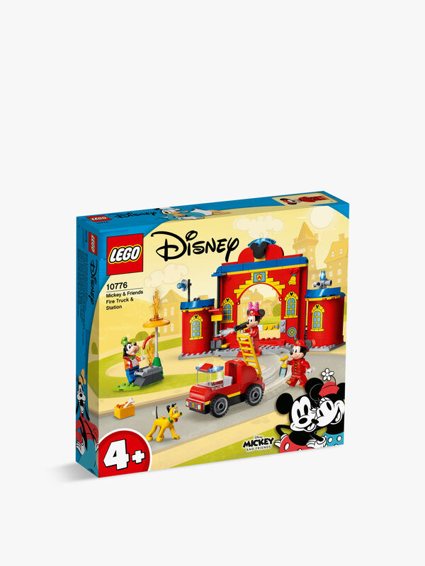 Mickey & Friends Fire Engine & Station