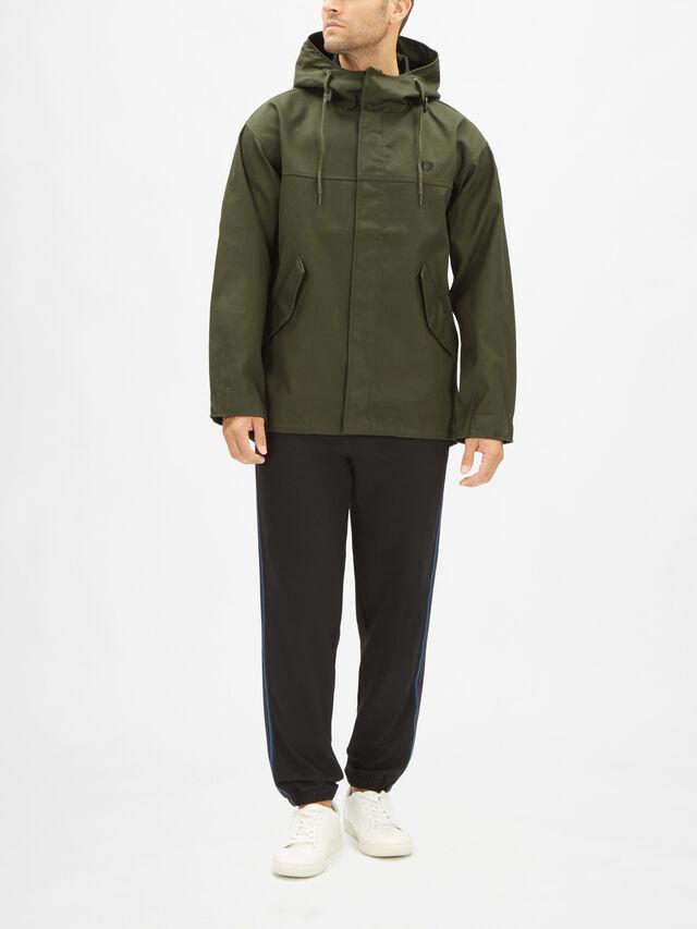 Short Bonded Parka Coat