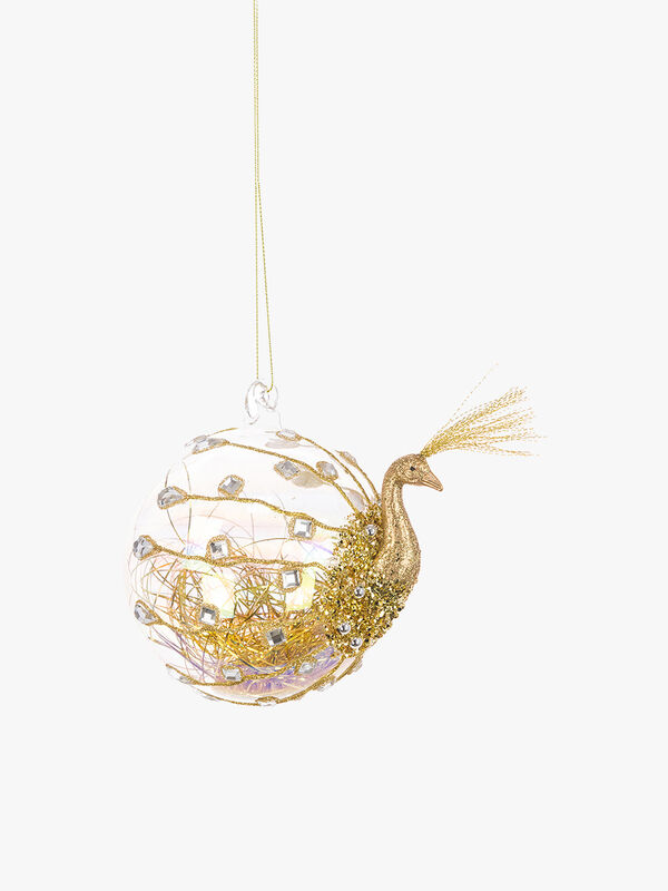 Luxe Peacock Bauble