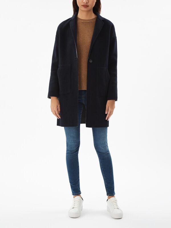 Reversible Handstitched Coat