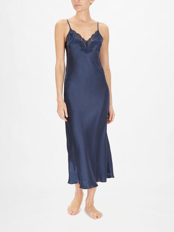 Silk Long Nightdress
