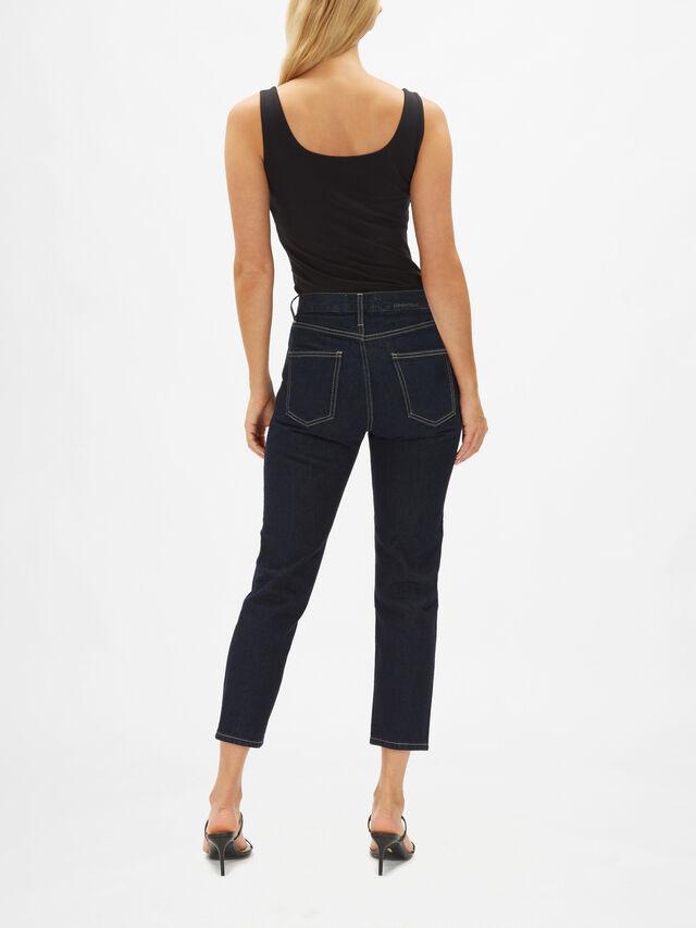 The Vintage Cropped Slim Jeans