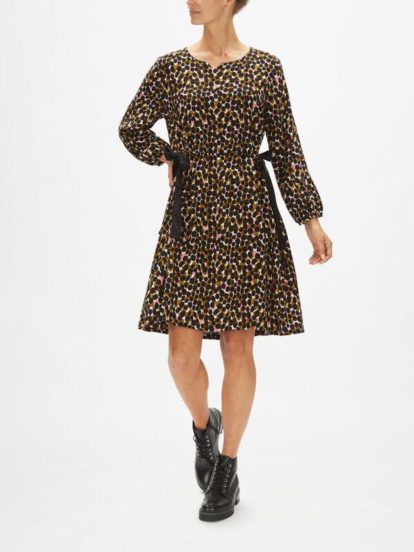 Noatta Bubble Print D String Waist Dress