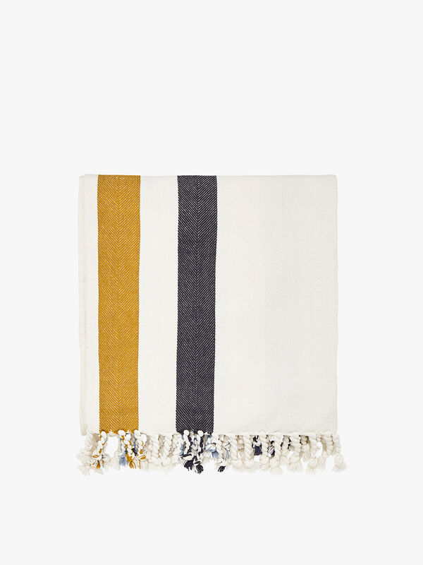 Galley Grade Stripe Throw