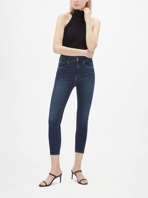 Good Legs High Rise Skinny Crop Jeans