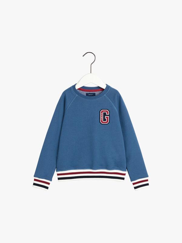 G Patch Crew Sweater