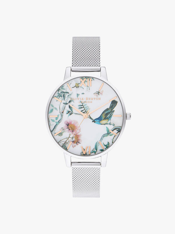 Painterly Prints Mesh Watch