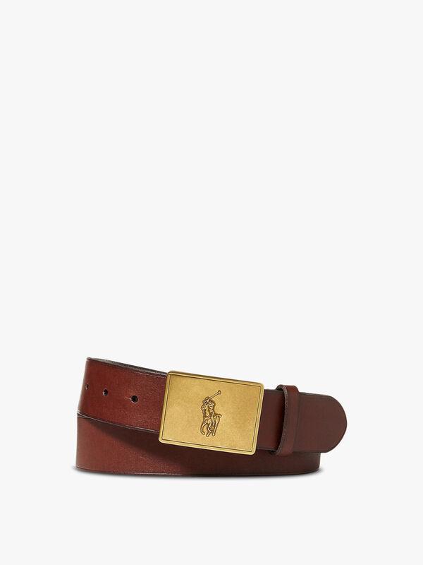 Plaque Casual Belt