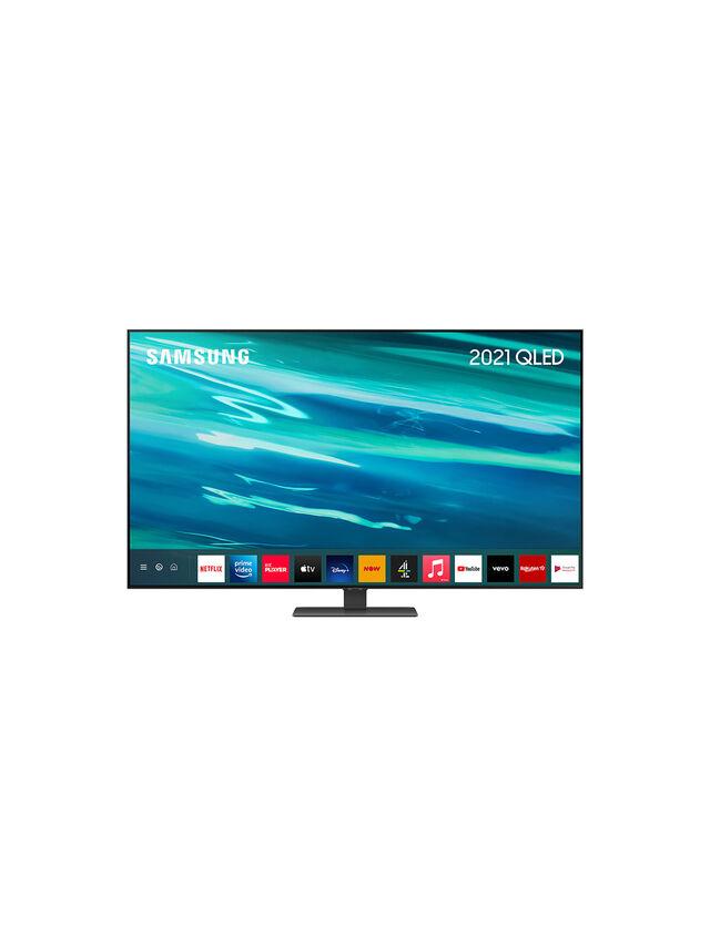"""65"""" QLED 4K HDR Smart TV (2021) QE65Q80AA"""