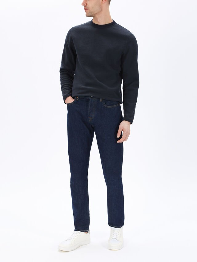 Tapered Fit Selvedge Jeans